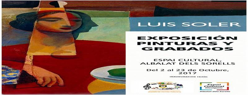 EXPOSICIÓN DE PINTURAS Y GRABADOS DE LUIS SOLER